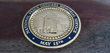 National Peace Officers Memorial Service Collectible Challenge Coin