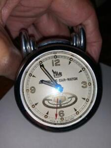 Super rare vintage steering wheel clock to fit 1940s, 50s, 60s cars