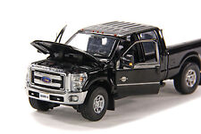 "Ford F250 Pickup Truck - Crew Cab - 6 Ft Bed - ""BLACK"" - 1/50 - Sword #SW1200K"