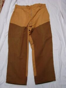 VINTAGE SPORTSMEN'S APPAREL BY BROWNING USA CANVAS HUNTING PANTS