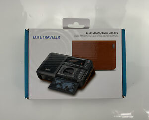 Elite Traveler - AM/FM/LW/SW Radio with ATS & Leather Cover for Radio