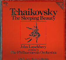 Tchaikovsky THE SLEEPING BEAUTY Lanchbery 3LP BOX EMI Digital SLS 5272 @N/Mint