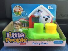 Fisher Price Little People Farmer Barn Milking Station Parlor Cow Dairy Farm Toy