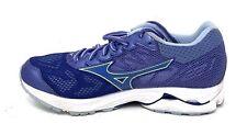 Mizuno Women's Wave Rider 21 Running Shoe, Baja Blue/Dazzling Blue, 8 B Us Used