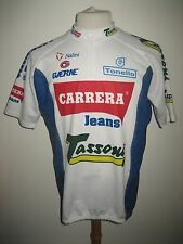 Carrera Jeans Tassoni Italy vintage 90's jersey shirt cycling maglia size XXL