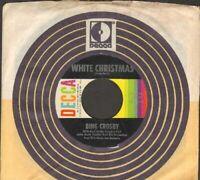Crosby, Bing - White Christmas multi-color Decca 23778 Vinyl 45 rpm Record
