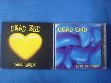 2 CD / DEAD END / DARK INSIDE + AIN'T NO CURE / DIALEKTIK hardcore punk rock