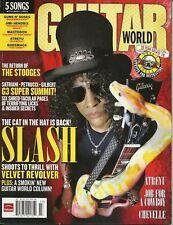 Guitar World Magazine July 2007 - Slash, Atreyu, Chevelle, Velvet Revolver,