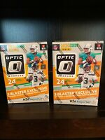 2020 Panini Donruss Optic NFL Blaster Box Factory Sealed Football In Hand (2)