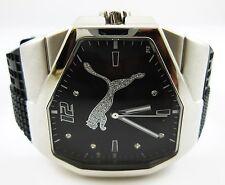 """Puma """"Take Pole Position"""" Model #MARLOX092509 Black Watch #7010"""