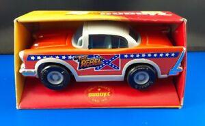 "New Vintage Buddy L ""The Rebel"" Chevy NIP Diecast Plastic Car Rebel Runner #456"