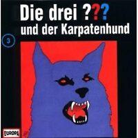 """DIE DREI ??? """"UND DER KARPATENHUND (FOLGE 3)"""" CD HÖRBUCH NEUWARE"""