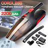 2200mAh 12V 120W Portable Sans fil Voiture Maison Aspirateur Nettoyeur Ménage