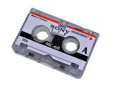 1 k7 SONY MC-60 pour Enregistreur - Micro K7 Micro-cassette  1 pièce