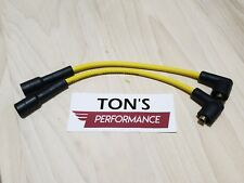 SuperStock Plug Wires Yellow Harley 95-03 Sportster 883 1200 Coil Relocation