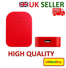 New Foldable Single USB Port UK Charger For iPhone Samsung Sony Red Colour - UK