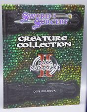 Sword & Sorcery Creature Collection II Dark Menagerie Core Rulebook WW8301 New