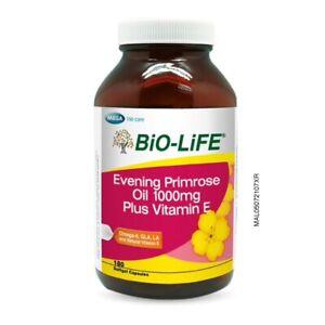 BIO-LIFE EPO 1000mg Plus Vitamin E 180's