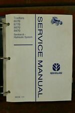 New Holland 8770 8870 8970 Tractor Electrical System Hydraulics Dealer Manuals