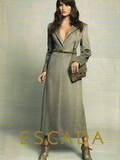Publicité Advertising 2011  ESCADA  pret à porter collection mode