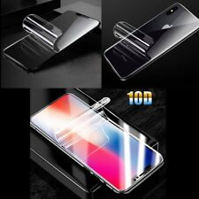 Soft Nano Curved Hydrogel Screen Full Cover Protector For iPhone XS MAX XR X 8 7