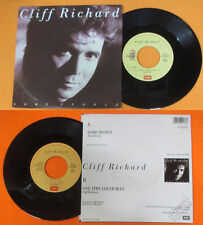 LP 45 7''  CLIFF RICHARD Some people One time lover man 1987 italy no cd mc dvd