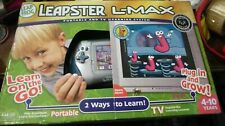 Leap Frog Leapster L-Max learning game system Target Exclusive Nib