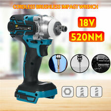 Torque Impact Wrench Brushless Cordless Replacement For Makita Battery DTW wwj