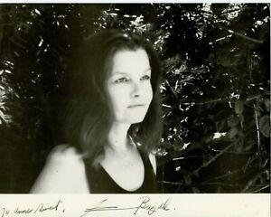 Autographié 8 x 10 Photo Canadien Actrice Geneviève Bujold Anne De 1,000 Jours