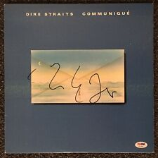 Mark Knopfler Dire Straits Signed Record Album PSA/DNA  Autographed Communique