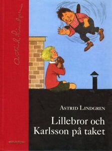 Buch SCHWEDISCH, Astrid Lindgren,Lillebror och Karlsson på taket vom Dach svensk