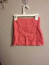 Gymboree Tyrolean Lure Pink Corduroy Skirt Size 5