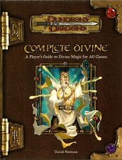 D&D - Dungeons & Dragons Ed 3.5: Complete Divine Perfetto Sacerdote - Eng USATO