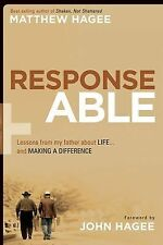 Response-Able: What my father taught me about life and making a differ-ExLibrary