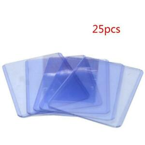 25Pcs Tarot Cards Protector Sleeves 3x4In Board Game Card Case Collect Holder