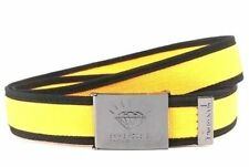MEN'S GUYS DIAMOND SUPPLY CO SHINE FOREVER SCOUT WEB BELT YELLOW/BLK BUCKLE NEW