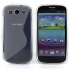 Clear TPU Silicone Anti-Scratches Cover Case Samsung Galaxy S3 i9300 SGH-I747M