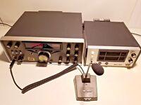 Ten-Tec Omni D Model 546 B HF Transceiver +  Power Supply / Speaker + 705 Mic