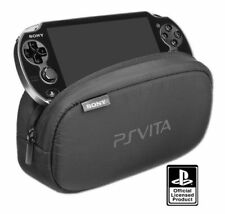 Genuine SONY Playstation PS VITA Soft Travel Case Pouch Rugged Zipper Neoprene