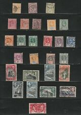 collection  Ceylon  stamps, Queen Victoria  to Geo 6th