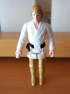 Star Wars Vintage Figure Luke Skywalker Brown Hair G.M.F.G.I. 1977