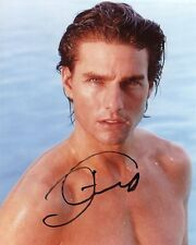 AUTOGRAPHE SUR PHOTO SEXY 20 x 25 de Tom CRUISE (signed in person)