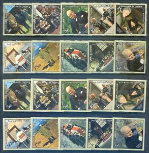UAR - Umm al Quiuan 3 1965 Churchill sets mint and 2 sheets (2020/09/09#09)