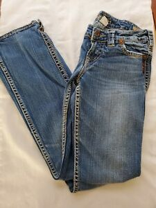 "Silver Brand Womens Jeans Frances 18"" Boot Cut  Size 25x31"