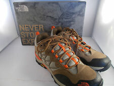 The North Face Storm Sepia Brown/Spicy Orange Hiking Shoes Women's Size 7 NIB