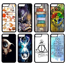 HARRY POTTER Hogwarts Phone Case Cover iPhone 4 5 6 7 8 Plus X Comp (S1)