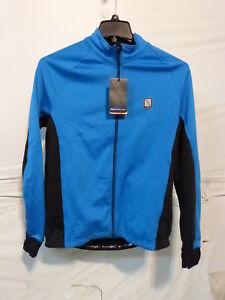 Altura Peloton Long Sleeve Cycling Jersey Men's XXL Blue/Black