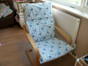 HANDMADE IKEA  POANG ARMCHAIR COVER ONLY @PATTERN  #2