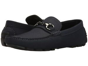Kenneth Cole Unlisted Hope Lake Men Shoes Navy Faux Leather 10.0US  NIB