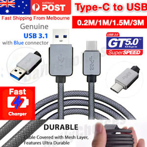 For Samsung Type-C Data Fast Charger USB Cable Cord Galaxy S8 Plus S9 S9+ NOTE